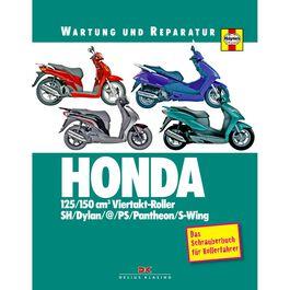 Reparaturanleitung Honda 125/150er 4-Takt Roller