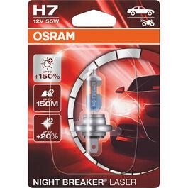 Night Breaker® Laser Leuchtmittel + 150% H7 12V, 55W PX26d