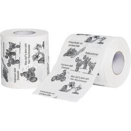 Burnout Biker toilet paper