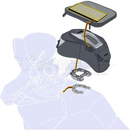 power socket BMW TRE.00.475.123 without screws