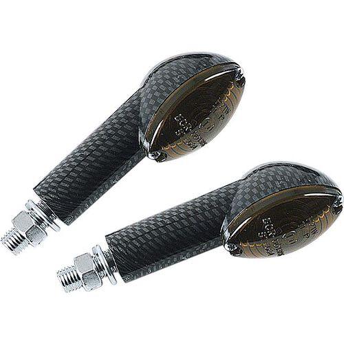 Blinkerpaar Cateye 12V/H21 M10 kurz