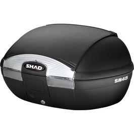 Topcase SH45 schwarz unlackiert