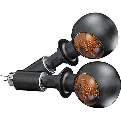 Lenkerendenblinkerpaar Bull's Eye 12V/H21 Metall