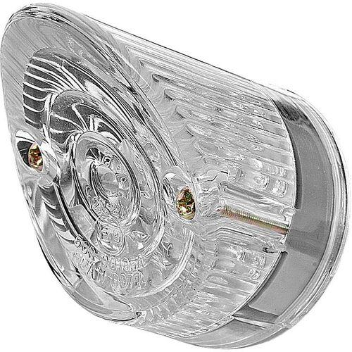 LED Rücklicht Nose Ø 44mm mit Nr.-Beleuchtung