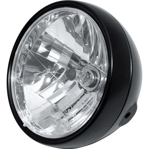 Hauptscheinwerfer H4 Klarglas Ø190 mm seitlich