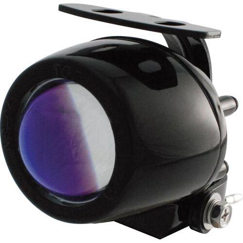 Mini-Ellipsoid H3 Nebelscheinwerfer blaue Linse