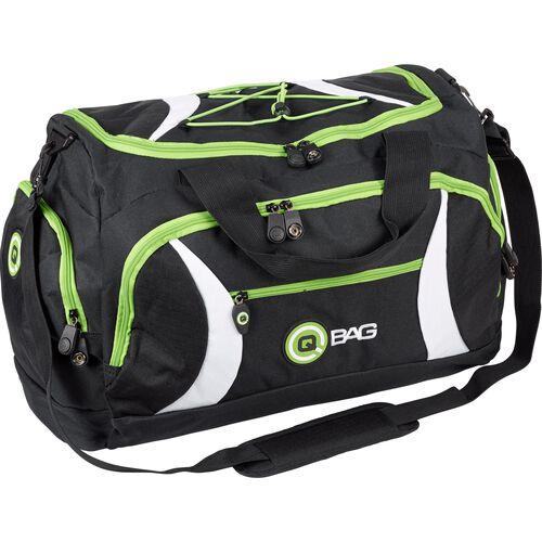 Heck-/Sporttasche 40 Liter Stauraum schwarz/grün