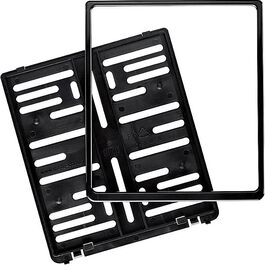 MetaChrom Licence plate holder 180 x 200 mm