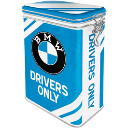 "Metal tin Clip Top ""BMW - Drivers Only"""