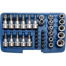 """Torx® Bit-/Steckschlüssel für 3/8"""" 34-teilig"""