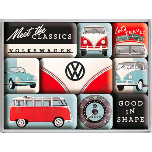 "Magnet-Set ""VW - Meet The Classics"""