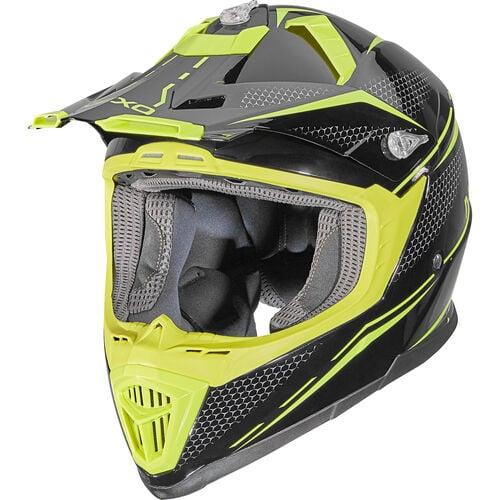 MX-Line fibre glass cross helmet