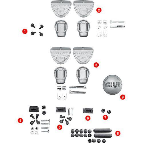 Gummistopfen für Trägerplatten