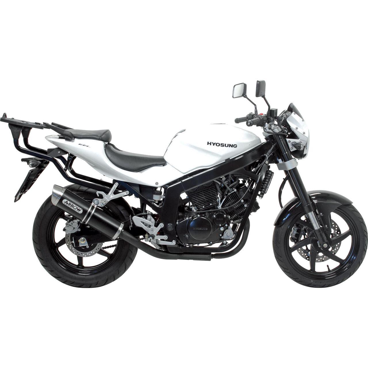 AUSPUFF ENDTOPF IXIL HEXOVAL XTREM schwarz Honda CB 500/S