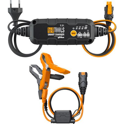 Batterieladegerät PM1100, 6/12V 1,1A, für Blei-Säure+Lithium