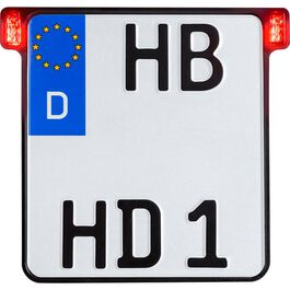 All-In 2.0 license plate holder D 180mm