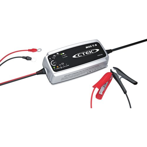 battery charger MXS 7.0 EU, 12V 7A, for lead acid