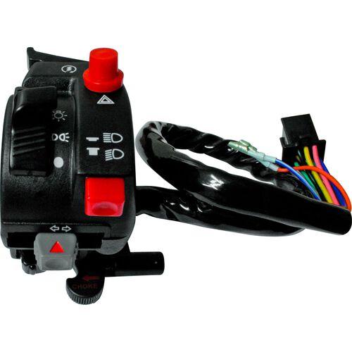 Lenkerschalter 22mm wie Honda mit Startknopf/Warnblinker