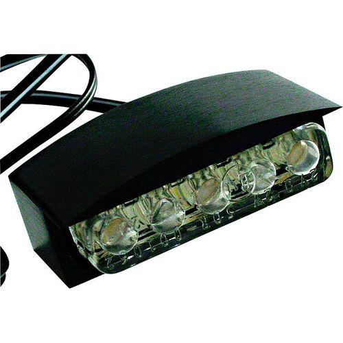 LED license plate light aluminum