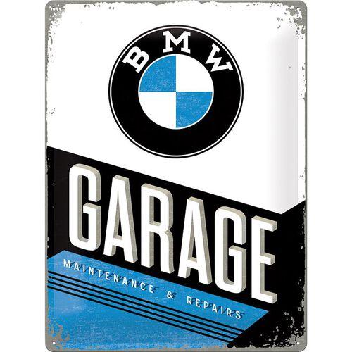 """Blechschild 30 x 40 """"BMW-Garage"""""""